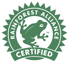 We are Rainforest Alliance Certified