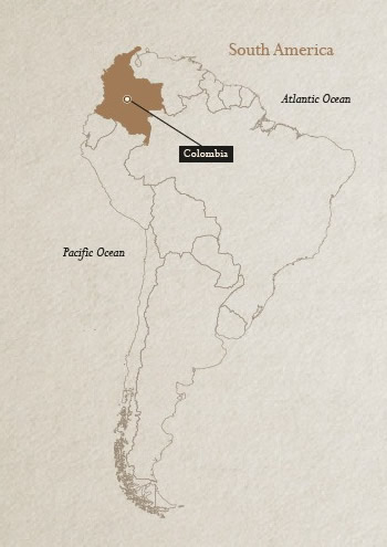 Colombia in the map!